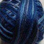 Valdani Floss 5VAP11 Pearl Cotton Size 5 Ball Denim Blues - 5VAM5