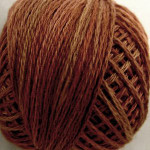 Valdani Floss 5VAP11 Pearl Cotton Size 5 Ball Coffee Roast - 5VA513