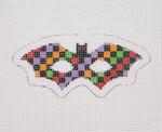 "BB 1912 Mini-Halloween Bat Mask 18 Mesh 1.75"" x 3.75"" Burnett And Bradley"