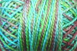 Valdani Floss 5VAP11 Pearl Cotton Size 5 Ball Green Chestnut - 5VAV104