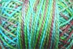 Valdani Floss 5VAP11 Pearl Cotton Size 5 Ball Green Chestnut - 5VAV104