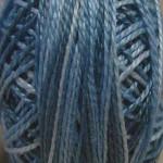 Valdani Floss 5VAP11 Pearl Cotton Size 5 Balls Blue Clouds - 5VAM68