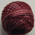 Valdani Floss 5VAP11 Pearl Cotton Size 5 Ball Nostalgic Rose - 5VAH204