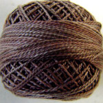 Valdani Floss 5VAP11 Pearl Cotton Size 5 Ball Chimney Dust - 5VA512