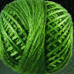 Valdani Floss 5VAP11 Pearl Cotton Size 5 Ball Morning Grass - 5VA560