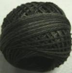 Valdani Floss 5VAP11 Pearl Cotton Size 5 Ball Khaki Black - 5VAH209