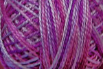 Valdani Floss 5VAP11 Pearl Cotton Size 5 Ball Pinks & Purples - 5VAV60
