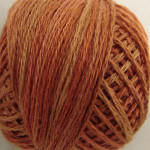 Valdani Floss 5VAP11 Pearl Cotton Size 5 Ball Rusted Orange - 5VAP6