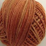 Valdani Floss 5VAP11 Pearl Cotton Size 5 Ball Rusted Orange - 5VAP6