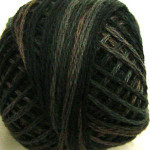 Valdani Floss 5VAP11 Pearl Cotton Size 5 Balls Black Olive - 5VA540