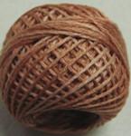 Valdani Floss 5VAP11 Pearl Cotton Size 5 Ball Washed Orange - 5VAH206