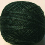 Valdani Floss 5VAP11 Pearl Cotton Size 5 Ball Deep Forest Greens - 5VA41