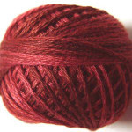 Valdani Floss 5VAP11 Pearl Cotton Size 5 Ball Garnets - 5VA503