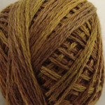 Valdani Floss 5VAP11 Pearl Cotton Size 5 Ball Tarnished Gold - 5VAP5