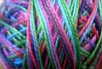 Valdani Floss 5VAP11 Pearl Cotton Size 5 Ball Lilac Garden - 5VAV102