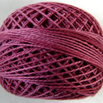 Valdani Floss 5VAP11 Pearl Cotton Size 5 Ball Raspberry - 5VA522