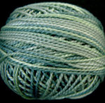 Valdani Floss 5VAP11 Pearl Cotton Size 5 Ball Seaside - 5VAJP12