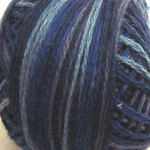 Valdani Floss 5VAP11 Pearl Cotton Size 5 Ball Withered Blue - 5VAP7