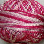 Valdani Floss 5VAP11 Pearl Cotton Size 5 Ball Strawberry Cream - 5VAM1