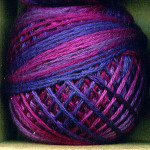 Valdani Floss 5VAP11 Pearl Cotton Size 5 Ball Mulberry Grape - 5VA521