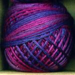Valdani Floss 5VAP11 Pearl Cotton Size 5 Ball Mulberry Grape - 5VA521