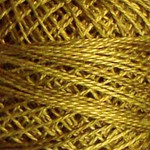 Valdani Floss 5VAP11 Pearl Cotton Size 5 Ball Golden Moss - 5VA153
