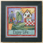 ST151102 Mill Hill Sticks Kit Enjoy Life (2011)