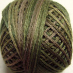 Valdani Floss 5VAP11 Pearl Cotton Size 5 Ball Olive Green - 5VAP2