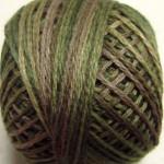 Valdani Floss 5VAP11 Pearl Cotton Size 5 Ball Olive Green - 5VAP2