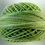 Valdani Floss 5VAP11 Pearl Cotton Size 5 Ball Lime Sherbet - 5VA543
