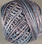 Valdani Floss 5VAP11 Pearl Cotton Size 5 Ball Shimmering Denim - 5VA561