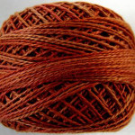 Valdani Floss 5VAP11 Pearl Cotton Size 5 Ball Terracotta Twist - 5VA510