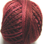 Valdani Floss 5VAP11 Pearl Cotton Size 5 Ball Rich Wine - 5VA507