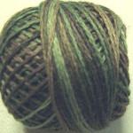 Valdani Floss 5VAP11 Pearl Cotton Size 5 Ball Icy Leaves - 5VA565