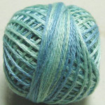 Valdani Floss 5VAP11 Pearl Cotton Size 5 Ball Water Reflections - 5VAM24