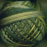 Valdani Floss 5VAP11 Pearl Cotton Size 5 Ball Olives - 5VAM19