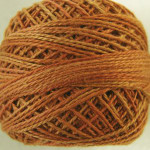 Valdani Floss 5VAP11 Pearl Cotton Size 5 Ball Toffee - 5VA505