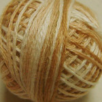 Valdani Floss 5VAP11 Pearl Cotton Size 5 Ball Wheat Husk - 5VA514