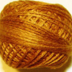 Valdani Floss 5VAP11 Pearl Cotton Size 5 Ball Yummy Pumpkin - 5VA217