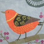 AS742 Robin  6x6 18 Mesh Birds Of A Feather