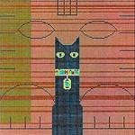Charley Harper Cleopetra 13 Mesh HC-C178 10 x 10 Treglown Designs