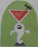 ab433 A. Bradley Ghostly Cocktail 8 x 6.25 18 Mesh