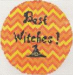 """ab435 A. Bradley Best Witches Round 3.5"""" Round 18 Mesh"""