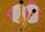 Charlie Harper Roseate Spoonbills HC-R188  13 Mesh 10 x 7 Treglown Designs