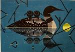 Clair De Loon Charley Harper CH-C117 18 Mesh 10 x 15 Treglown Designs