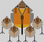 CH-R147 Treglown Designs Charles Harper Robin