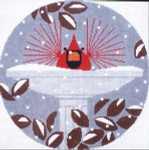 B-R-R-R-R-Rd Bath Charley Harper CH-B039 13 Mesh Treglown Designs