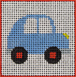 A6 Car DeElda Needleworks
