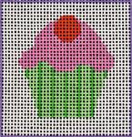 A1 Cupcake DeElda Needleworks