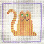 A13 Tabby Cat DeElda Needleworks